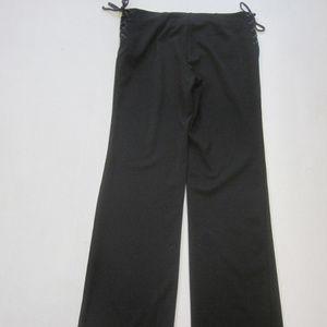 Womens EXPRESS Pants XS Wide Leg Black